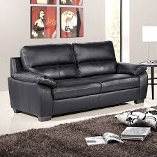 Cheap Leather Sofas Online Uk High Back Italian Inspired Black Leather Sofa Collection