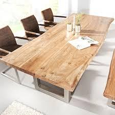Esstisch Queens Tisch Esszimmer Akazie Esstisch Mammut Mit Massiver Baumstamm Tisch Mammut 160cm Akazie