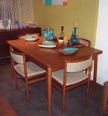 Teak Dining Tables And Chairs Dining Room Table And Chairs