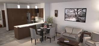 city center apartments site planning senior living interior