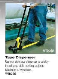 Floor Tape by Floor Tape Applicator Machine Striping Uses Vinyl Or Pavement Tape