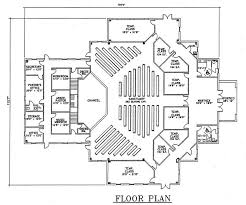 Church Floor Plan by Church Plan 123 Lth Steel Structures