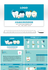 dental templates for powerpoint free download awesome blue fresh dental medical ppt template for free download on