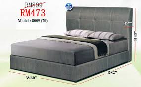 bed frame malaysia 2017 ideal home furniture