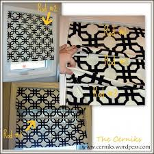 No Sew Roman Shades Instructions - 137 best window treatments fabric images on pinterest black