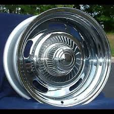 1969 camaro rally wheels set of 4 15 15x7 1969 77 chevy camaro chevelle monte carlo chrome