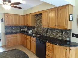 what color backsplash with honey oak cabinets updating oak kitchen cabinets before and after 11