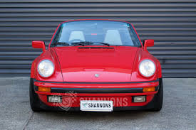 pink porsche convertible sold porsche 911 carrera 3 2 convertible auctions lot 18 shannons