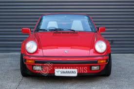 pink porsche convertible sold porsche 911 carrera 3 2 convertible auctions lot 18 shannons
