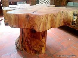 handmade coffee table naturally unique cypress tree trunk handmade coffee table rustic