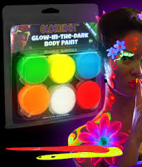 neon party supplies glow in the paint and markers neon glow paint party
