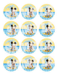 baby mickey 1st birthday 10 best mickey 1st birthday party favors images on