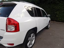 silver jeep compass used jeep compass suv 2 2 crd limited 4wd 5dr in ashford surrey