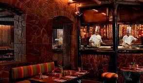 rustic restaurant decor itc maurya conde nast bukhara itc maurya