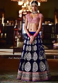 blue wedding dress designer pink and blue indian wedding dress by sabyasachi 2016 1700 usd