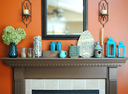 Teal Kitchen Decor by Orange Kitchen Decor