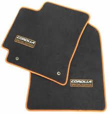 floor mats for toyota 2013 toyota corolla se carpeted floor mats from brandsport