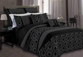Black Duvet Cover King Size Lowest Price Dursley Black Quilt Cover Set Doona Cover Set
