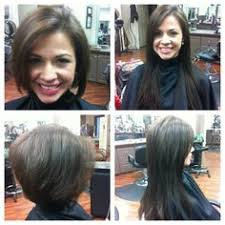 hair extensions for bob haircuts before and after photos illusions color spa st louis mo