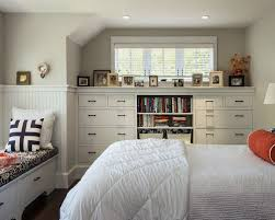 built in bookcases with drawers houzz