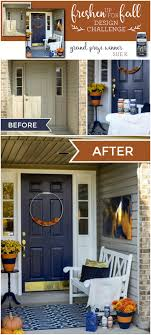 painting your front door the easy way the diy village add curb appeal to your front door check out how the decoart