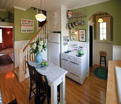sunny 1940s inspired kitchen old house online kitchen laundry