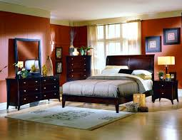Cherry Wood Bedroom Furniture Interior Awesome Interior With Dark Cherry Wood Frame Platform