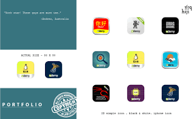 android app icon size design ios or android or windows app icon by hijibijitech