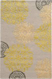 Yellow Rugs Rizzy Eden Harbor Eh8639 Gray Yellow Rug Contemporary Area