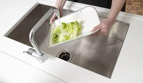 Kitchen Sink Cutting Board by Amazon Com Joseph Joseph Rinse And Chop Chopping Board And