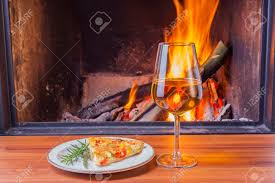 cozy fireplace binhminh decoration