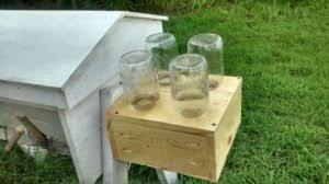 How To Make A Top Bar Beehive Top Bar Hive Feeder The Garden Academy