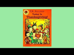 today is thanksgiving read aloud