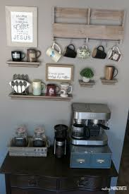 Bar At Home How To Create A Diy Coffee Station At Home Making Manzanita