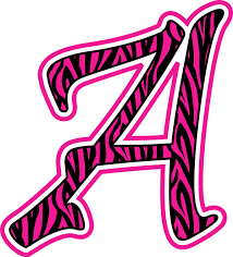 zebra print letters printable free download clip art free clip