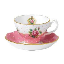 cheeky pink vintage teacup saucer royal albert us