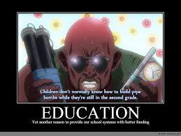 Education Memes - education anime meme com