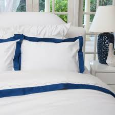 navy and white duvet cover linden monaco blue crane u0026 canopy