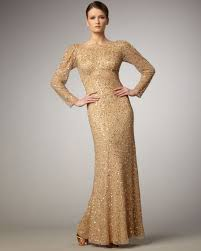 long sleeve sequin dress dressed up