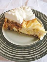 frugal foodie mama carrot cake swirled cheesecake
