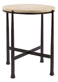 round metal side table round metal side table bernhardt crowe family room pinterest