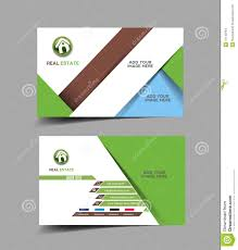 card real estate business card template