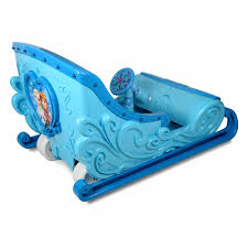 frozen power wheels sleigh disney frozen 12 volt ride on sleigh walmart com