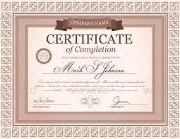 graduation certificate templates creativetemplate creative