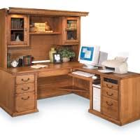 Oak Corner Computer Desks Home Office Modern Home Office Idea With Brown L Shaped Corner