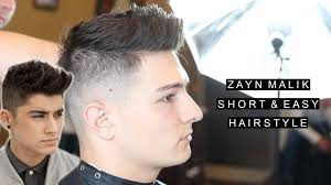 zayn malik hair short hairstyle for men easy hairstyle with