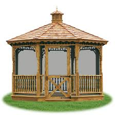 Gazebo Or Pergola by Gazebos Pergolas U0026 Pavilions Pine Creek Structures