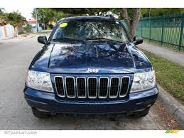 patriot blue pearl 2003 jeep grand cherokee limited 4x4 exterior