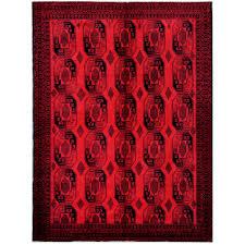 afghan hand knotted tribal balouchi wool rug 7 u00276 x 10 u00273 herat