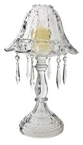 Small Crystal Table Lamp Small Mini Candlestick Buffet Lamps With Crystal Shade And Base Ideas